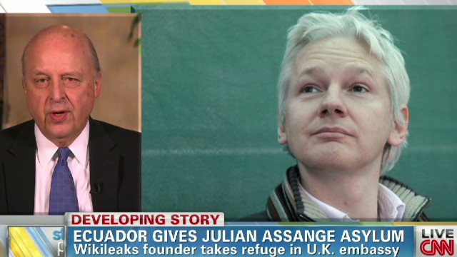 Why did Ecuador grant Assange asylum?