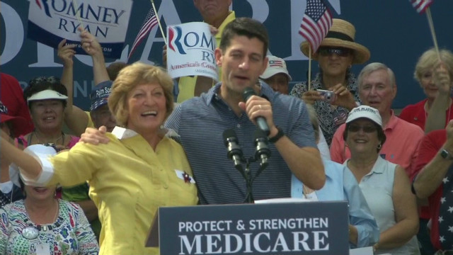 Paul Ryan brings mom on campaign trail