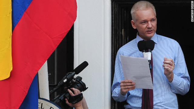 Assange calls for an end to FBI investigation