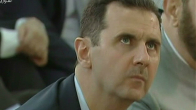 Assad makes rare public appearance