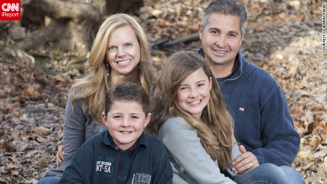 Beth Ulibarri tries to stay active with her family as she deals with MS.