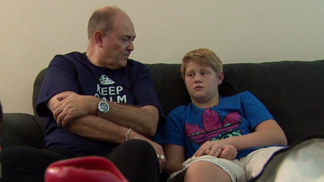 Boy's flying fear leaves family stranded