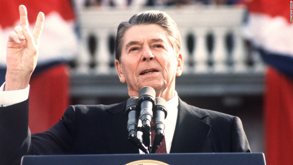 """<strong>PROMISE:  """"We did not—repeat, did not—trade weapons or anything else for hostages, nor will we.""""</strong> Ronald Reagan, in the middle of the Iran-Contra Affair, had to recant his proclamation a year later when evidence showed that the U.S. did in fact trade arms for hostages."""