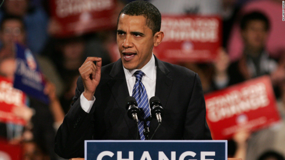 """<strong>PROMISE: """"If you choose change you will have a nominee who doesn't take a dime from Washington lobbyists and PACs."""" </strong> According to PolitiFact, a website that gauges accuracy of political statements, Barack Obama's 2008 claim is only partly true. The group said the Obama campaign, like others before it, uses a narrow definition of lobbyist that allows them to say that they do not accept their donations."""