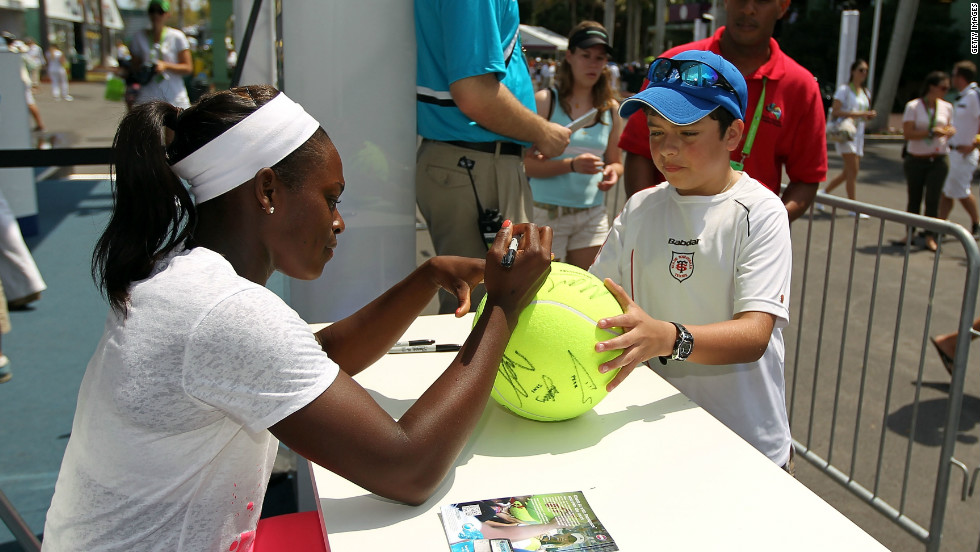 "According to Jeff Newman, tournament director at the Citi Open in Washington D.C., Stephens has the ""it"" factor. ""She resonates with the fans and has a great personality,"" Newman says."