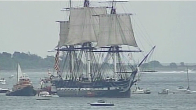 'Old Ironsides' sails again