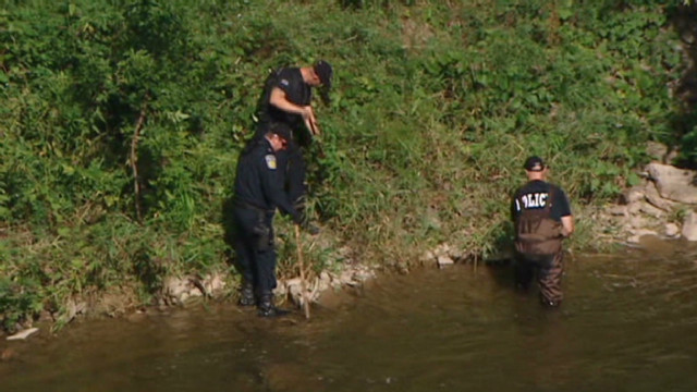 Body parts found in Canadian river