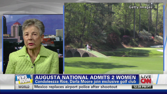 Augusta National: Boys only no more