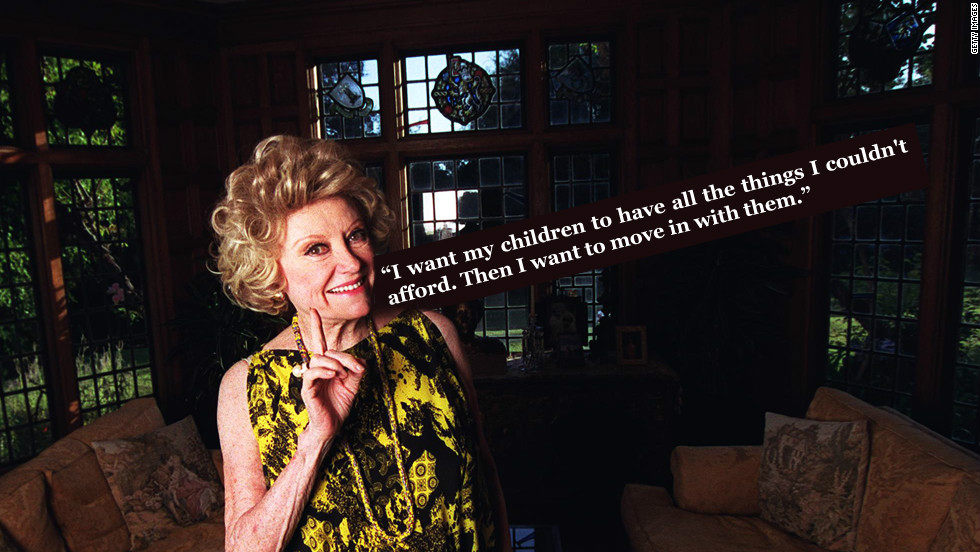 American comedian Phyllis Diller on her wishes for the future.