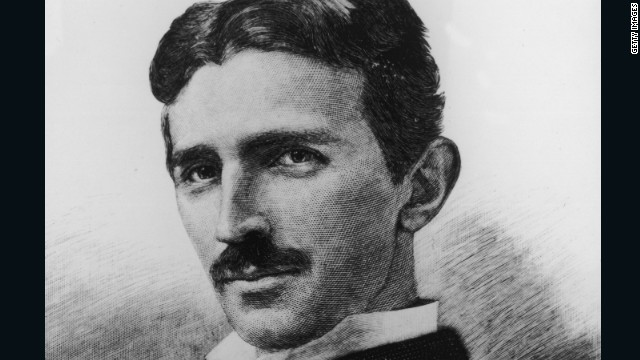 Inventor Nikola Tesla (1856 - 1943) foresaw wireless communications and wanted to develop clean fuel.