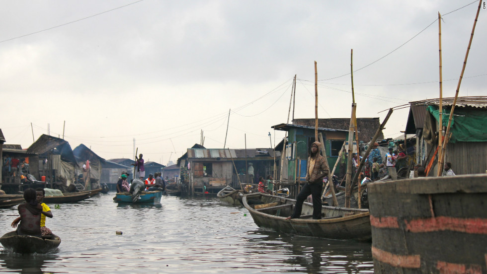 Scores of residents in Makoko have been left homeless after Lagos authorities demolished many of their homes.