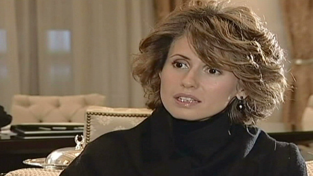Syrian first lady silent on violence