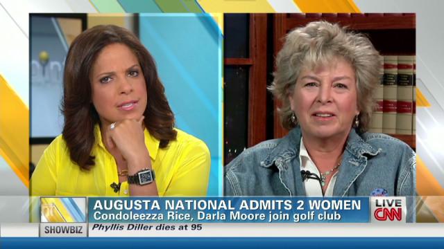 Augusta National admits 2 women