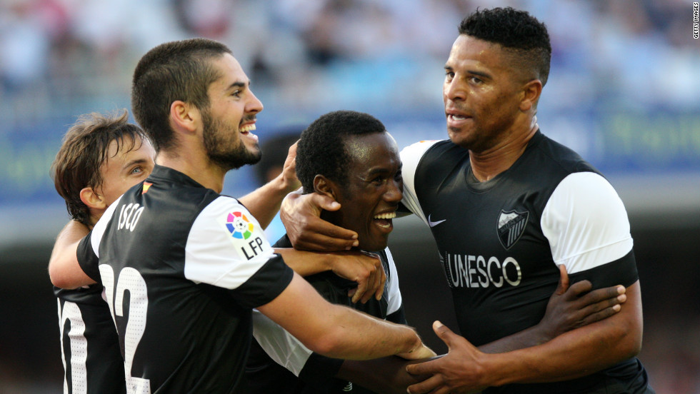 Malaga earned a 1-0 win over newly-promoted Celta Vigo on the Spanish season's opening weekend, but Pellegrini's team needed a goal from 16-year-old substitute Fabrice Olinga to secure victory.
