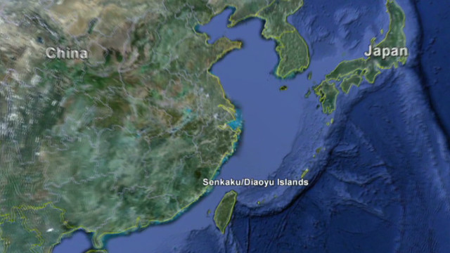 US in middle of China-Japan island flap