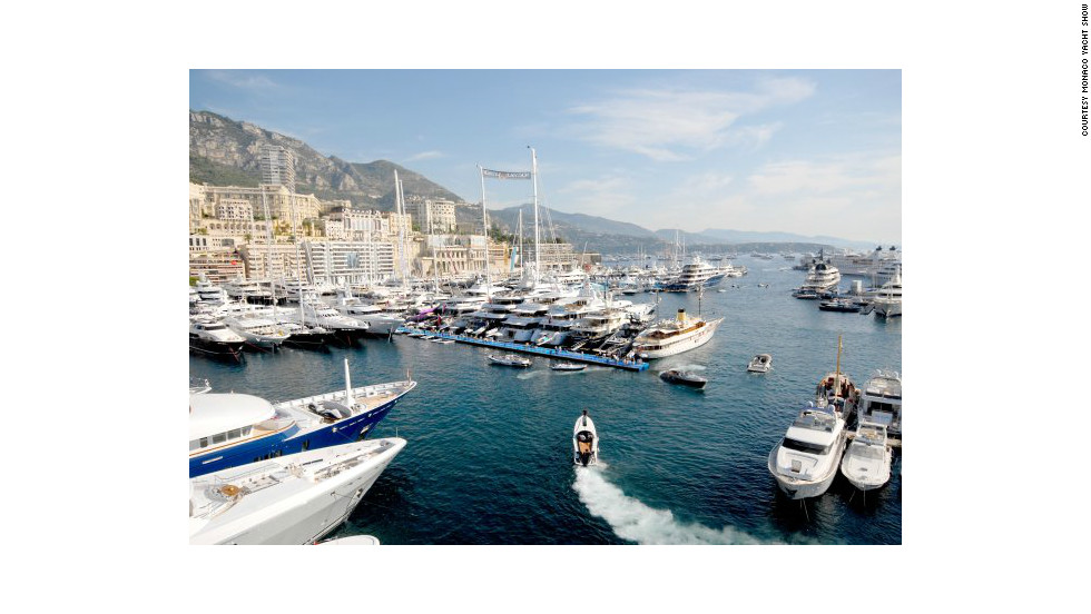 Situated on the Mediterranean Sea, 13 miles east of Nice in France, Monaco offers a sunny and temperate year-round climate.