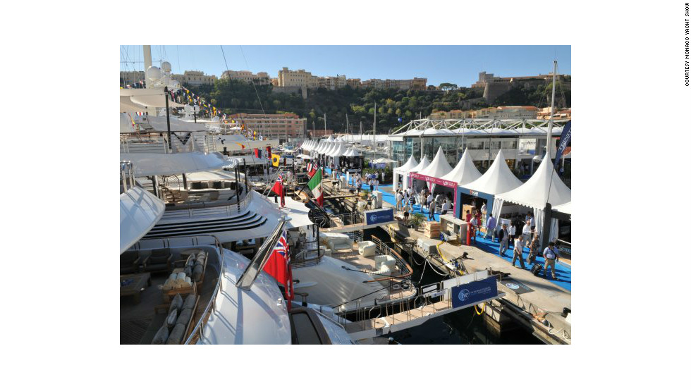 More than 500 luxury yachting companies will be involved, vying for the attention of an estimated 28,000 visitors.