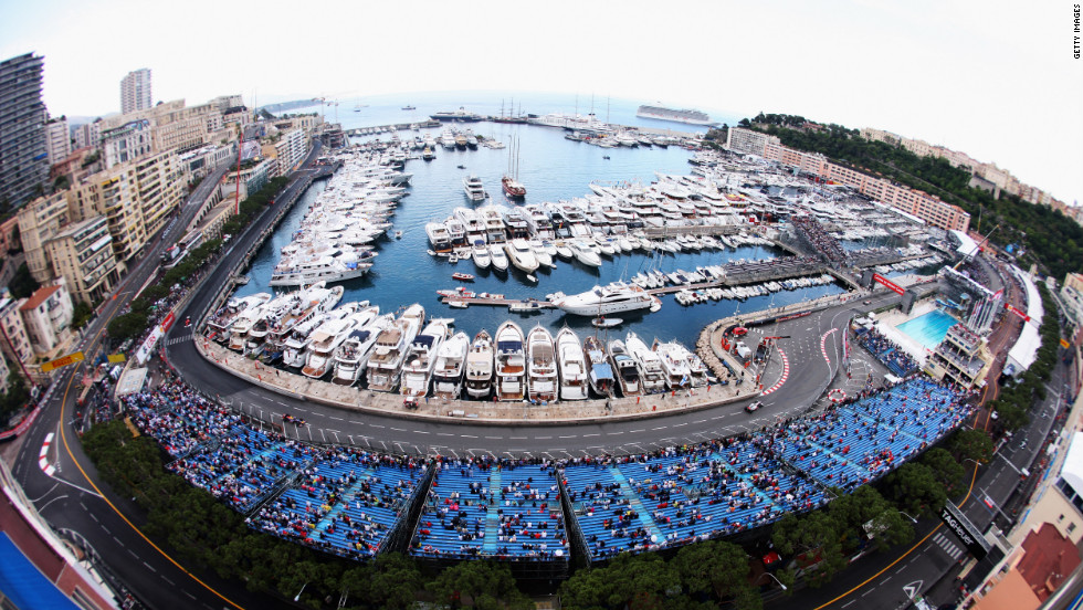 For one weekend every summer, the streets of Monaco are transformed into a race track for the Formula 1 Grand Prix. The tight corners and steep elevations mean this is one of the slowest and dangerous courses in the racing calendar.