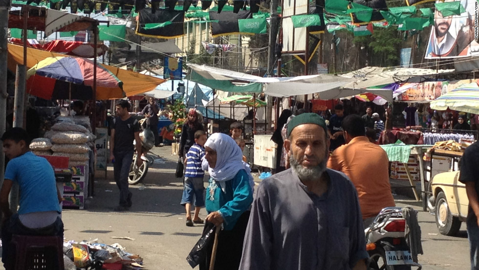 Rafah market appears to be buzzing despite efforts from Egypt and Hamas to close the smuggling tunnels that are key to Gaza's economy.