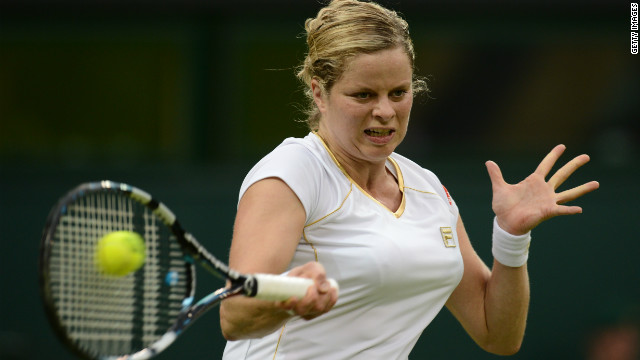 Kim Clijsters reached the quarterfinals of her first Olympic tournament at the recent London Games.