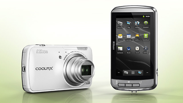 Nikon's newest point-and-shoot camera, the Coolpix S800c, is powered by the Android 2.3 operating system.