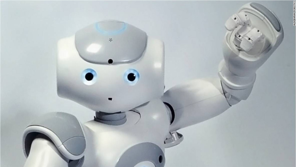 Nao, from Aldebaran Robotics, is a 22-inch, humanoid robot used largely for educational purposes.