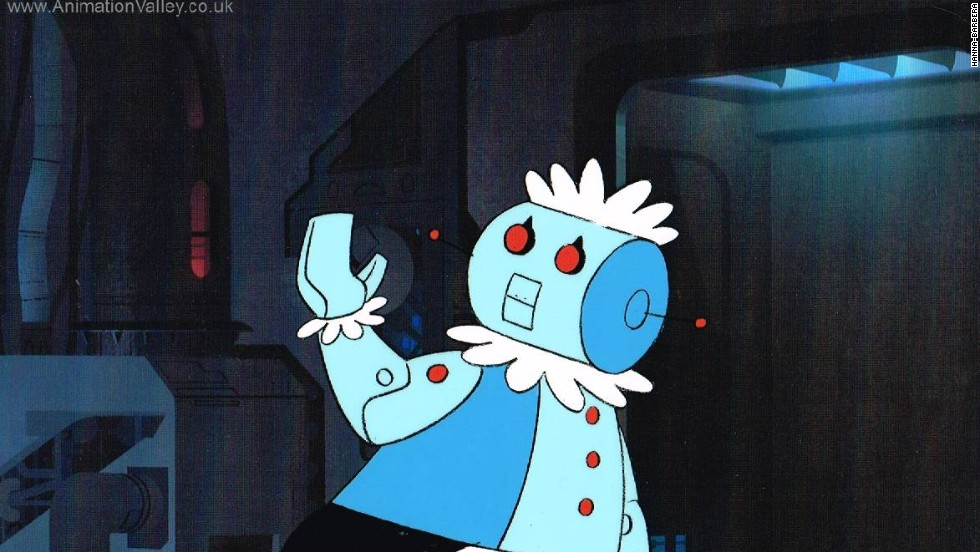 "Rosie, from the animated TV sitcom ""The Jetsons,"" is another nominee in the Robot Hall of Fame's entertainment category."