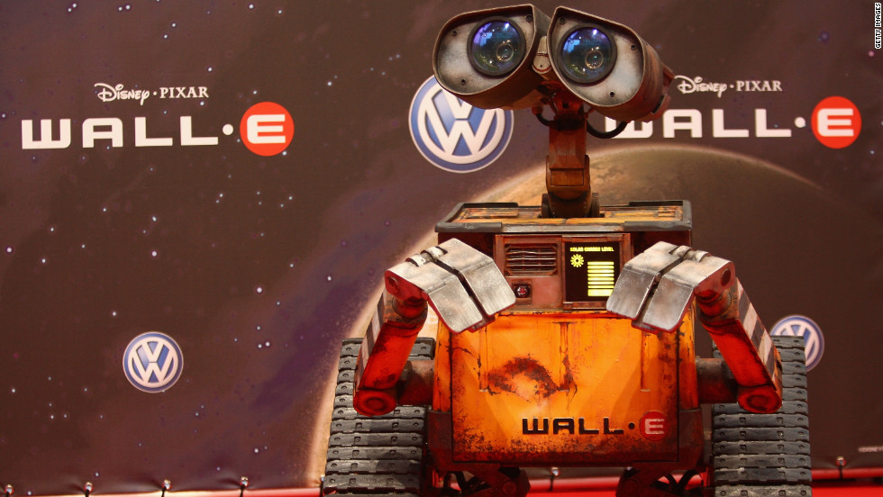 Wall-E, from the 2008 Pixar film of the same name, is also nominated in the entertainment category.