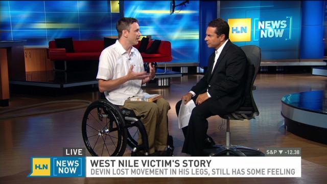 West Nile victim woke up paralyzed