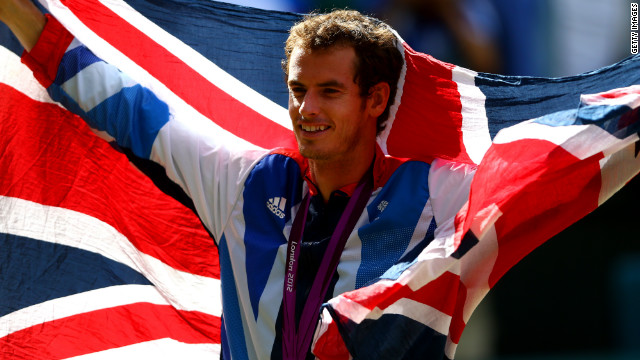 Andy Murray won men's singles gold at London 2012 as well as mixed doubles' silver alongside Laura Robson.
