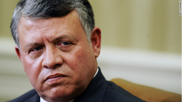 "Jordan's King Abdullah was ""concerned"" by the allegations, according to an official"