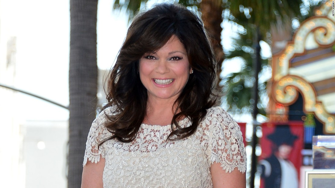 Valerie Bertinelli who was honored with the 2,476th Star on the Hollywood Walk of Fame in the Category of Television on August 22, 2012 in Hollywood, California.