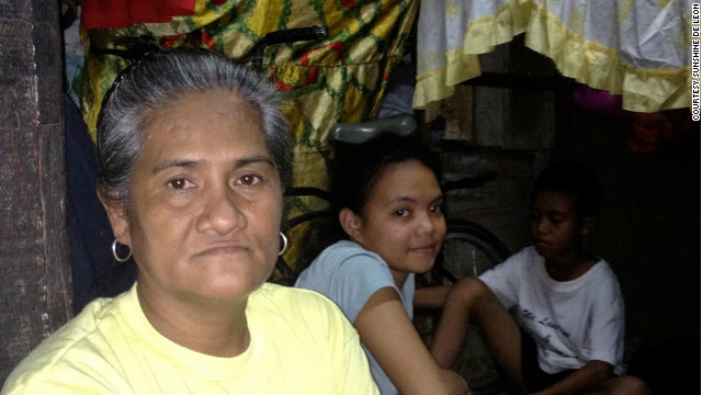 Cecilia Lopez. 52, who has given birth to 12 children, says she wishes things had turned out differently.