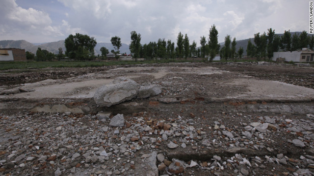 The Abbottabad, Pakistan, compound where U.S. Navy SEALs killed Osama bin Laden on May 2, 2011, has been demolished.