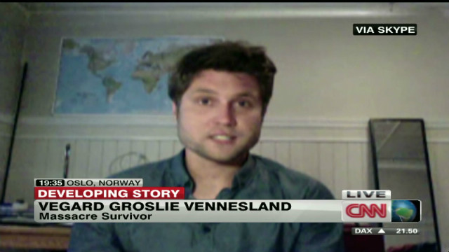 Norway shooting survivor watches verdict