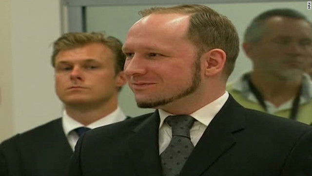 2012: Breivik sentenced to 21 years