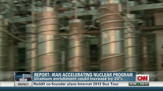 Iran report raising tensions