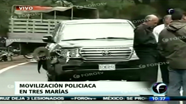 U.S. vehicle attacked in Mexico, 3 hurt