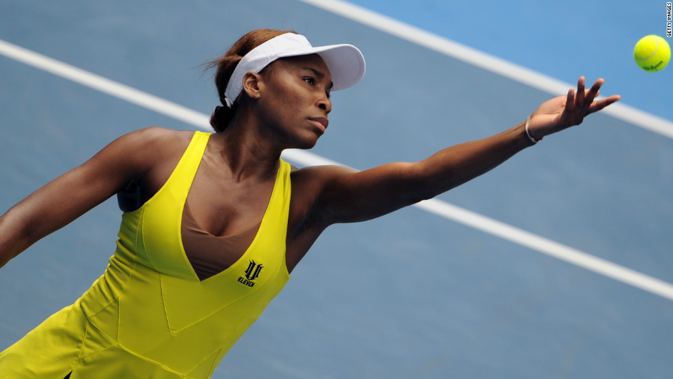 As her career continued and her interest in fashion grew, Williams began to experiement with her on-court outfits. At the 2010 Australian Open, the seven-time grand slam champion sported this neon yellow number.