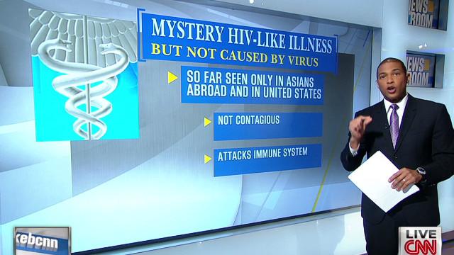 HIV-like illness affecting Asians