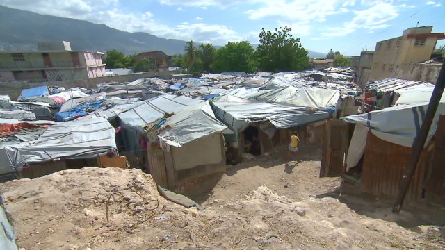 Haiti in hurricane danger