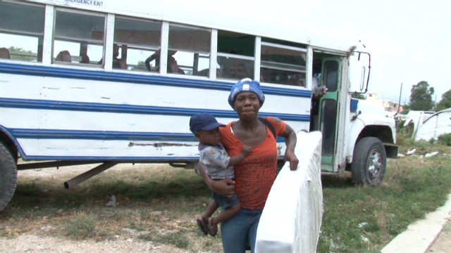 Haiti: Racing to relocate people