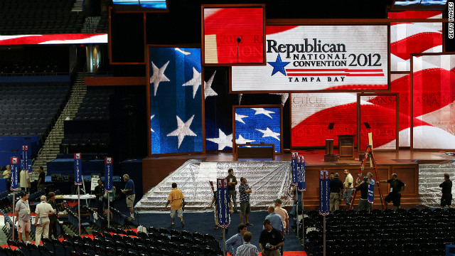 Prime real estate at GOP convention
