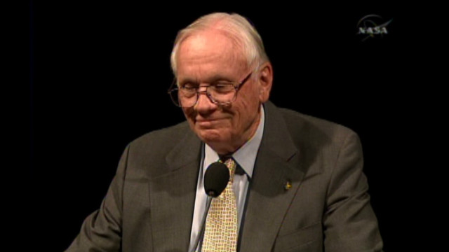 2009: Hear from astronaut Neil Armstrong