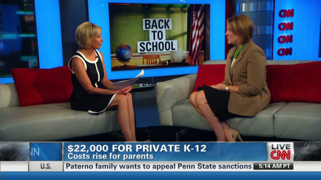 Paying the costs for private schools