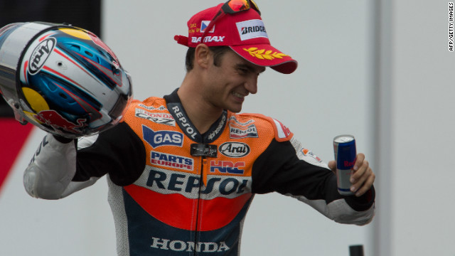 Dani Pedrosa claimed his third victory of the season after a thrilling race in Brno.