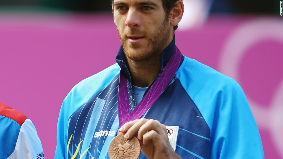 "Courier told CNN that Andy Murray is now one of the ""big four"" after beating Wimbledon champion Roger Federer in the Olympics final at London 2012, while bronze medalist and 2009 U.S. Open champion Juan Martin Del Potro is an outside threat."