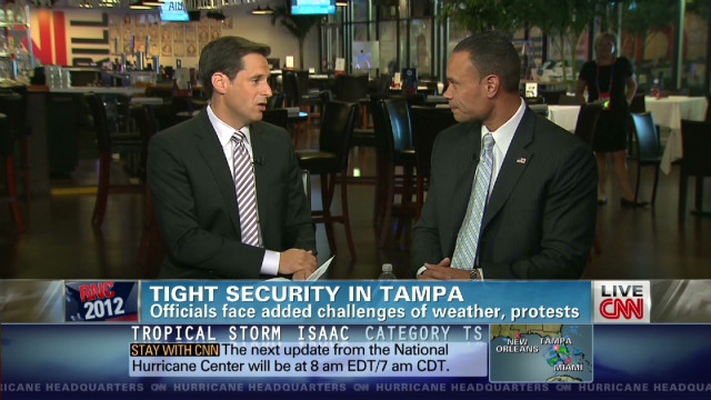 Tampa security tight for GOP convention