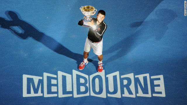 Serbia's Novak Djokovic won the 2012 Australian Open, beating Spain's Rafael Nadal in the final.