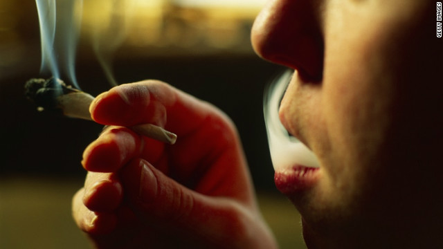 People who smoked pot heavily as teens had consistently lower IQs at age 38, a new study shows.